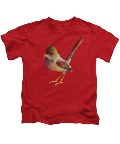 Wren Kids T-Shirt by Francisco Ventura Jr