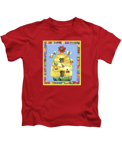 Busy Bees Kids T-Shirt