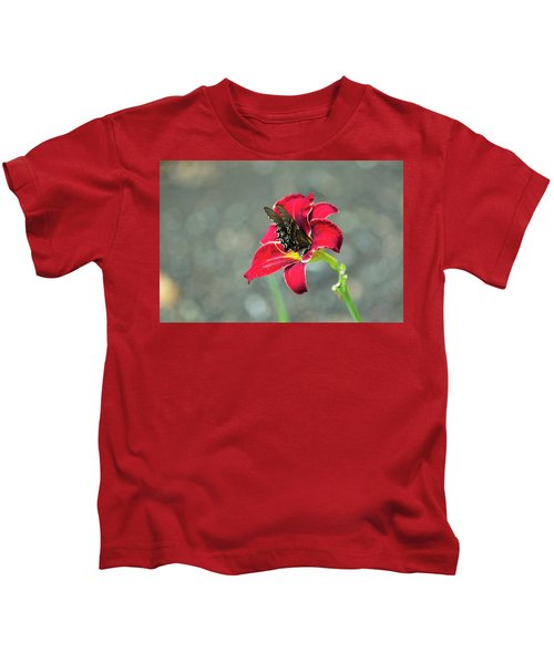 At One With The Orchid 2 Kids T-Shirt