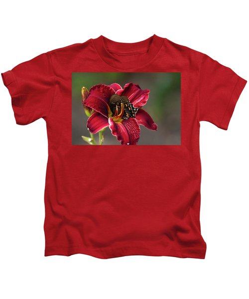 At One With The Orchid Kids T-Shirt