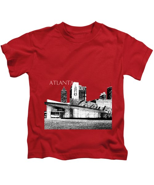 Atlanta World Of Coke Museum - Dark Red Kids T-Shirt