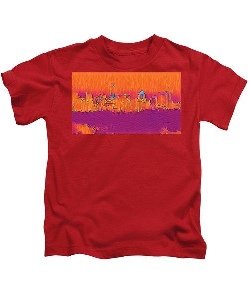 Austin Skyline Electric Kids T-Shirt