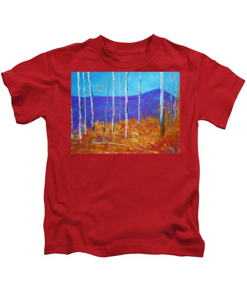 Autumn In Cloudcroft Kids T-Shirt