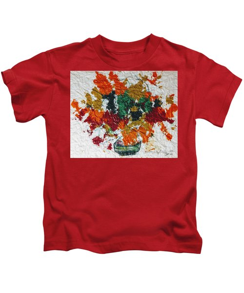 Autumn Leaves Plant Kids T-Shirt