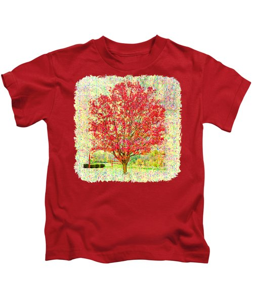 Autumn Musings 2 Kids T-Shirt by John M Bailey
