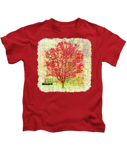 Autumn Musings 2 Kids T-Shirt