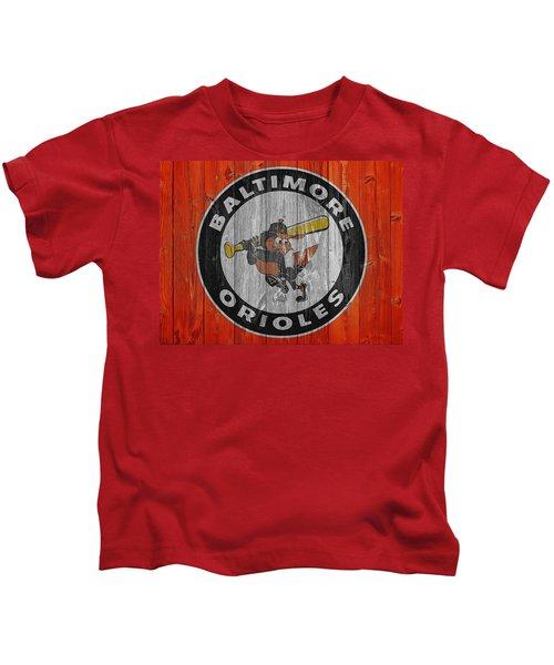 Baltimore Orioles Graphic Barn Door Kids T-Shirt