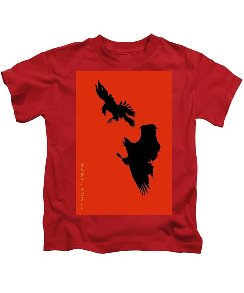 Battle Of The Eagles Kids T-Shirt