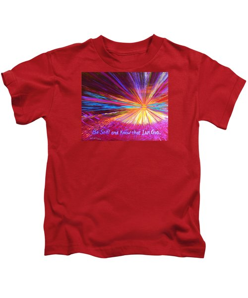 Be Still Kids T-Shirt