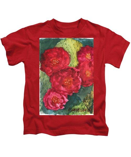 Beavertail Cactus Kids T-Shirt