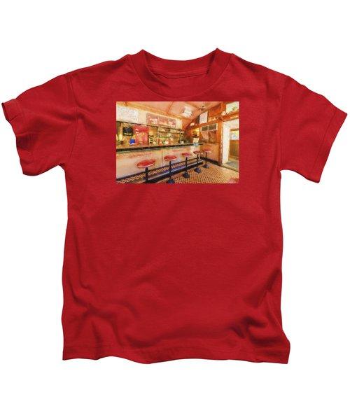 Bellows Falls Diner Kids T-Shirt