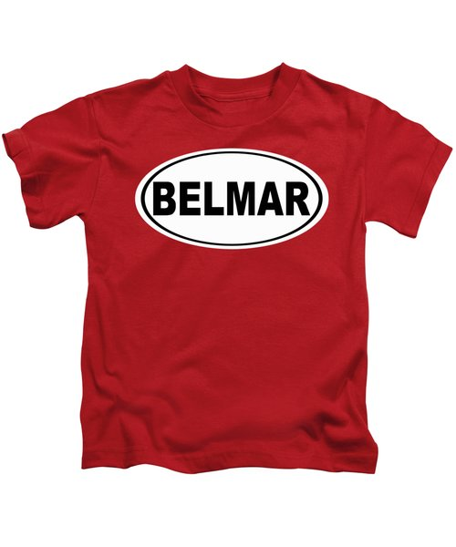 Belmar New Jersey Home Pride Kids T-Shirt
