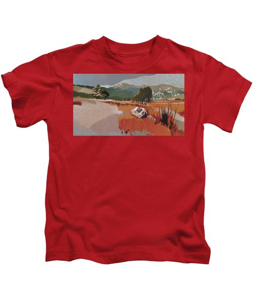 Bergen Peak First Snow Kids T-Shirt