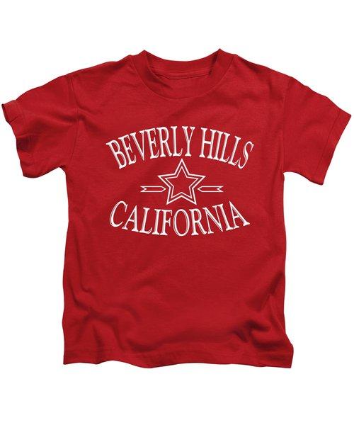 Beverly Hills California Design Kids T-Shirt