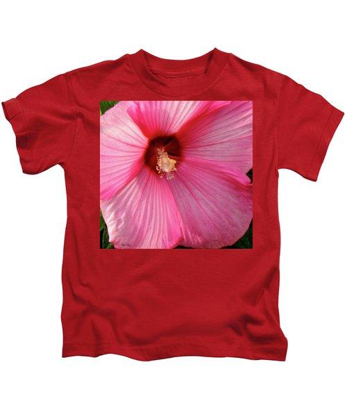 Big Pink Love Kids T-Shirt