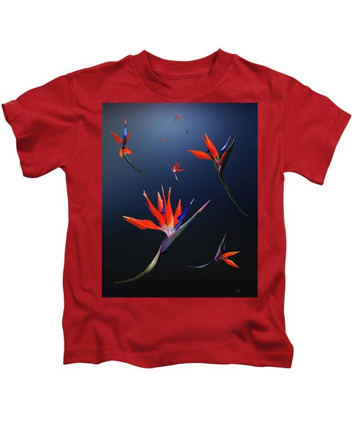 Birds Of Paradise Kids T-Shirt