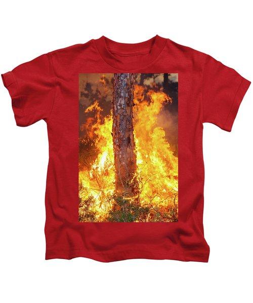 Blazing Pine Kids T-Shirt