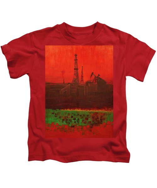 Blood Of Mother Earth Kids T-Shirt