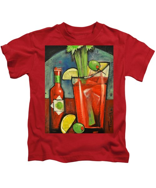 Bloody Mary Kids T-Shirt by Tim Nyberg