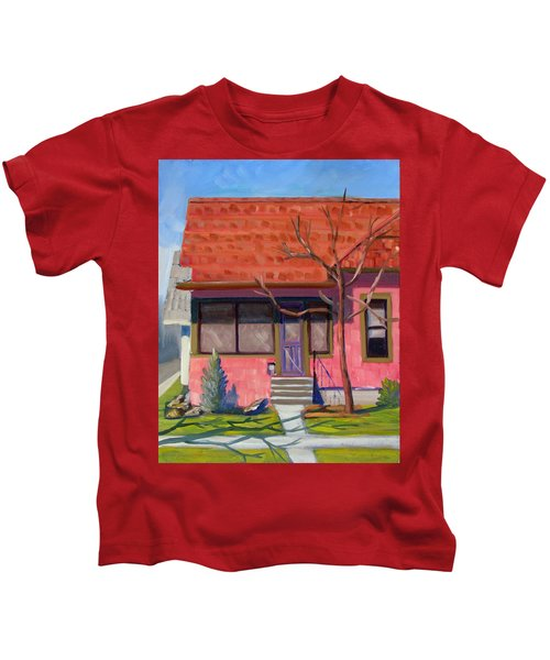 Boise Ridenbaugh St 02 Kids T-Shirt