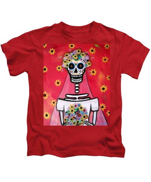 Bridezilla Dia De Los Muertos Kids T-Shirt