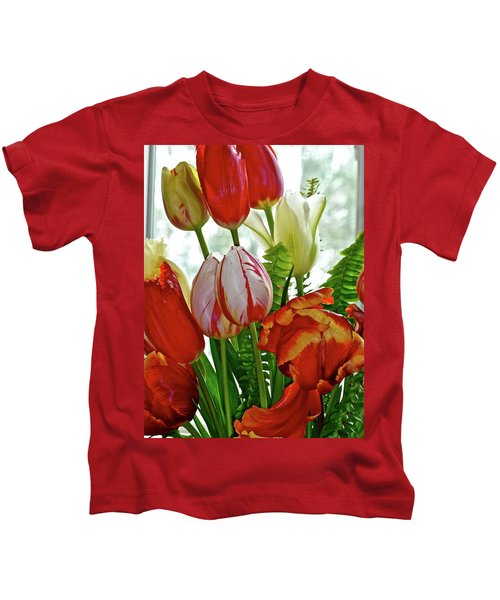 Bright Bouquet Kids T-Shirt