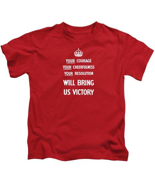 British Ww2 Propaganda Kids T-Shirt