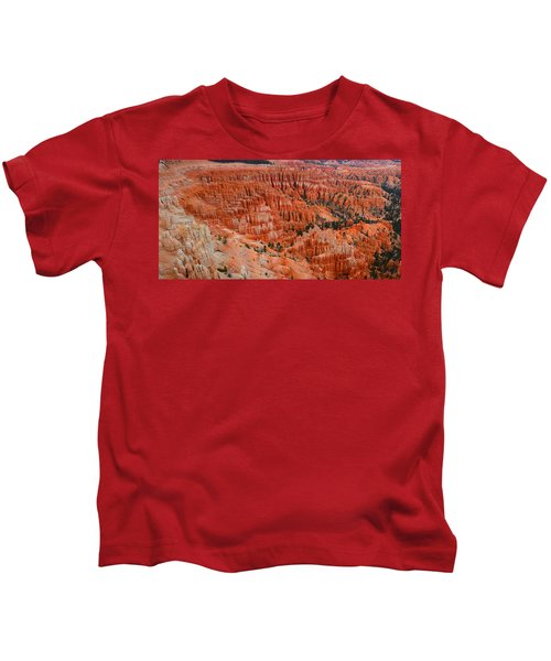 Bryce Canyon Megapixels Kids T-Shirt