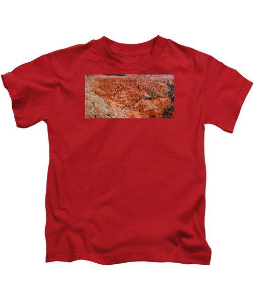 Bryce Canyon Megapixels Kids T-Shirt