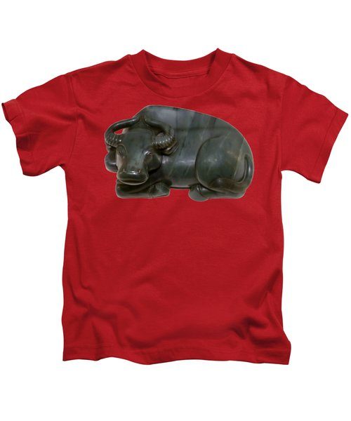 Bull Figure Kids T-Shirt