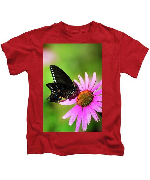 Butterfly In The Sun Kids T-Shirt