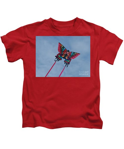 Butterfly Kite 2 Kids T-Shirt