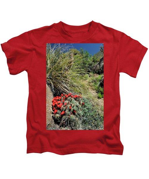 Crimson Barrel Cactus Kids T-Shirt