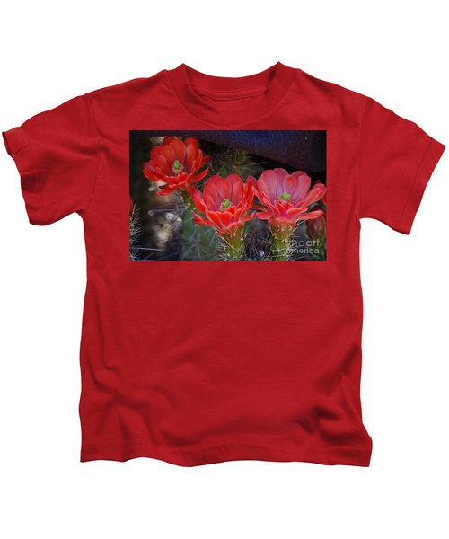 Cactus Flowers Kids T-Shirt