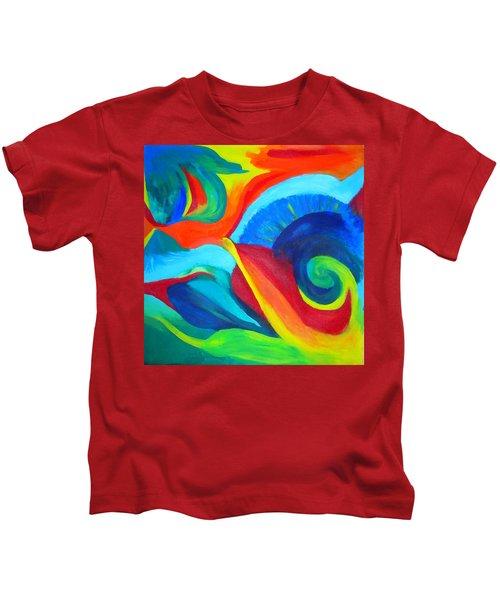 Candy Flip Kids T-Shirt