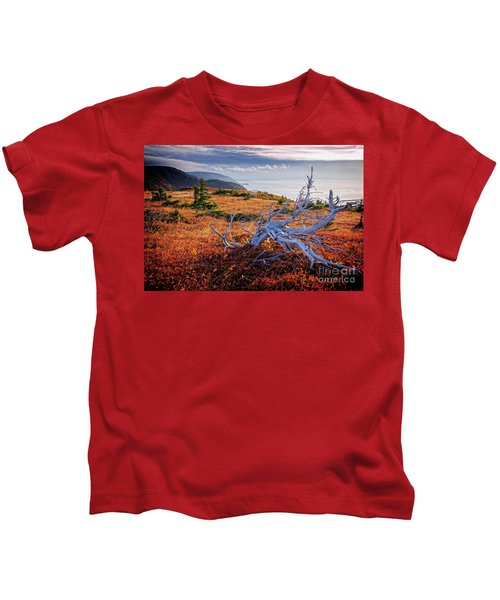 Cape Breton Highlands Kids T-Shirt