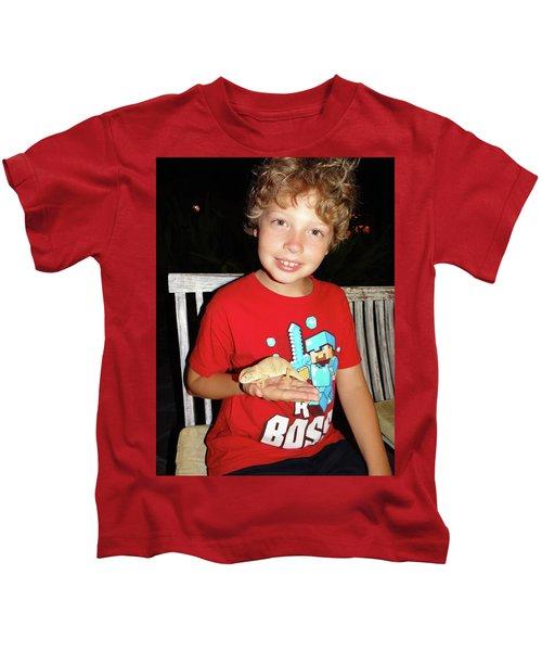 Caring For Chameleons 1 Kids T-Shirt by Exploramum Exploramum