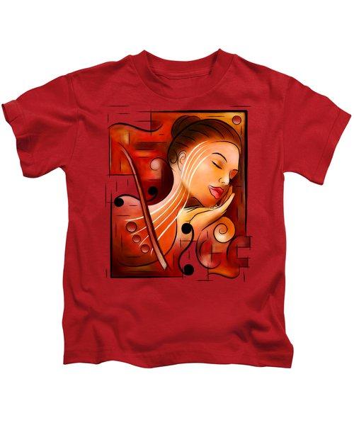 Casselopia - Violin Dream Kids T-Shirt