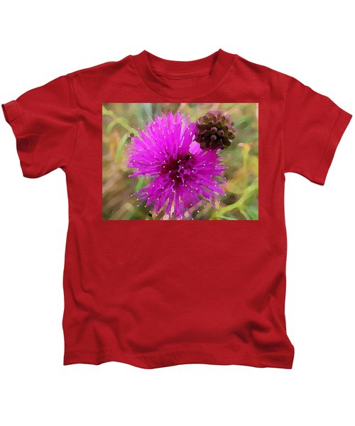 Catclaw Pink Mimosa  Kids T-Shirt