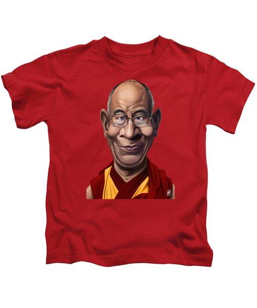 Celebrity Sunday - Dalai Lama Kids T-Shirt