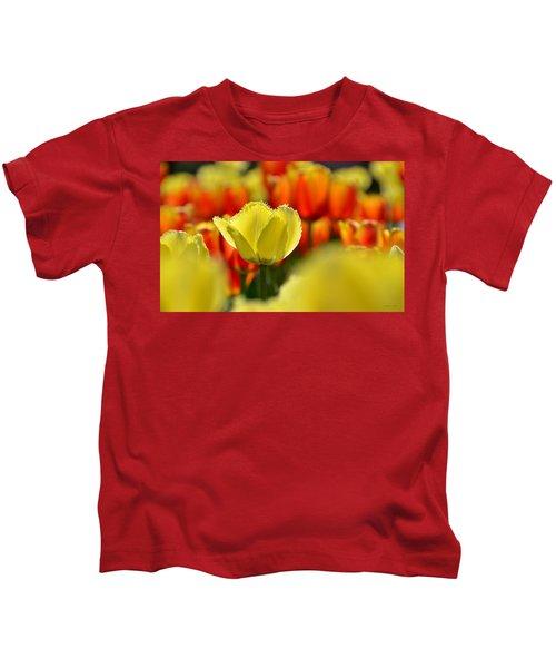 Center Of Attention Kids T-Shirt