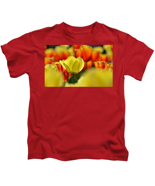 Center Of Attention Kids T-Shirt