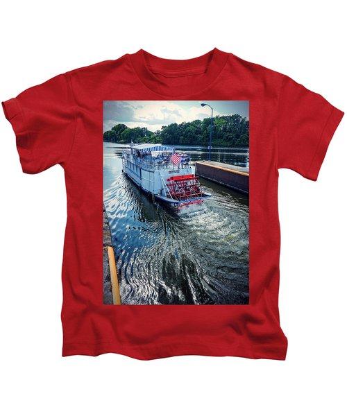 Champlain Canal Patriot Kids T-Shirt