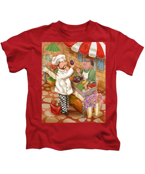 Chefs Go To Market I Kids T-Shirt