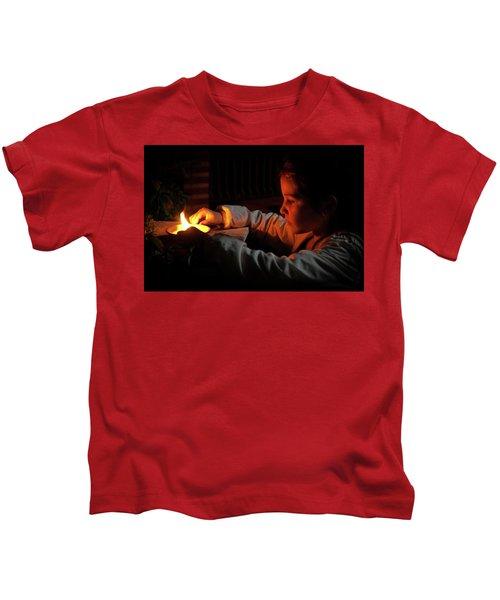 Child In The Night Kids T-Shirt
