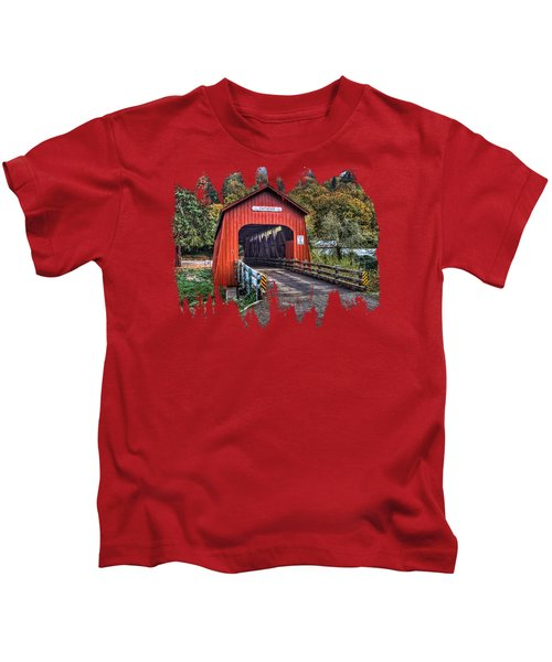 Chitwood Covered Bridge Kids T-Shirt