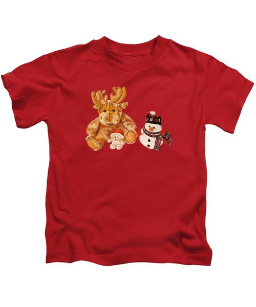 Christmas Buddies Kids T-Shirt