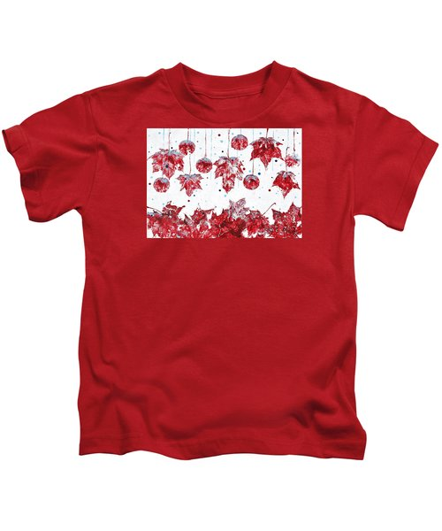 Christmas Decorations Of Nature Kids T-Shirt
