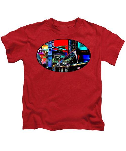 City Tansit Pop Art Kids T-Shirt