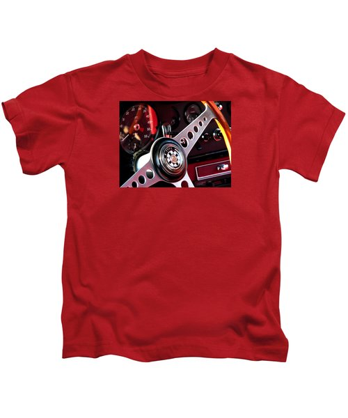 In The Drivers Seat Kids T-Shirt